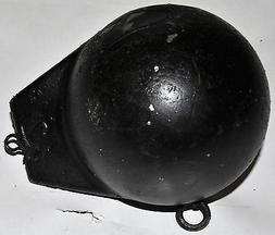 12 lb cannonball downrigger finned flash weight