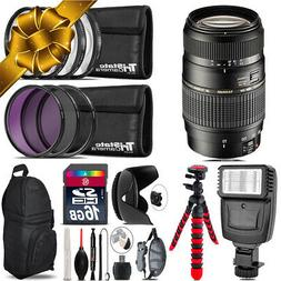 Tamron 70-300mm Lens for Canon + Flash +  Tripod & More - 16