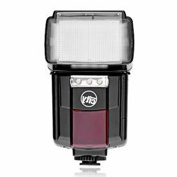 Auto Bounce Flash with LED Video Light for Canon EOS 7D 6D 5
