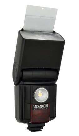 Rokinon D970VL-C Digital Zoom TTL Flash with Video Light for
