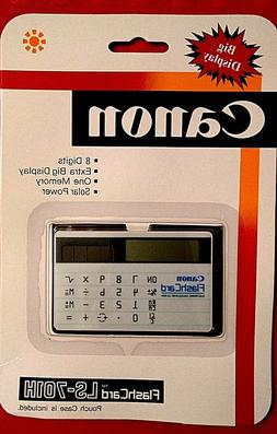 Canon Flash Card LS-701H Vintage Solar Calculator - Old Stoc