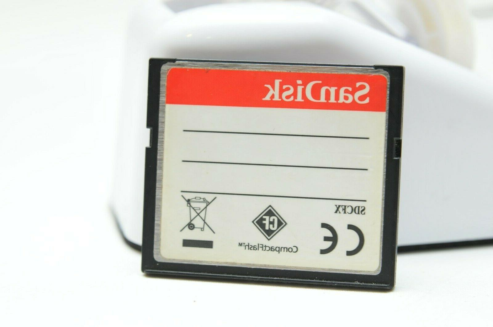 SanDisk 16GB Compact Flash for Nikon