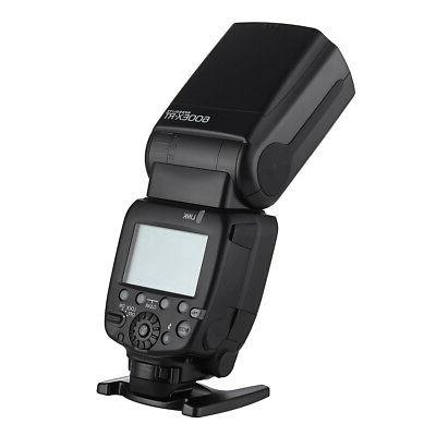600EX-RT GN60 HSS Wireless Speedlite II for Canon Cam
