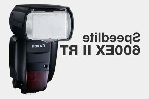 brand new speedlite 600ex ii rt speedlight