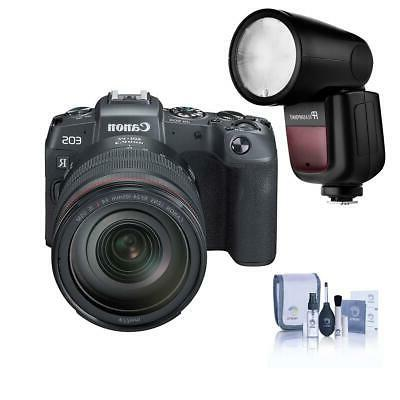 eos rp mirrorless camera with rf 24