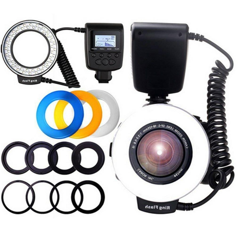 hd 130 macro ring flash light
