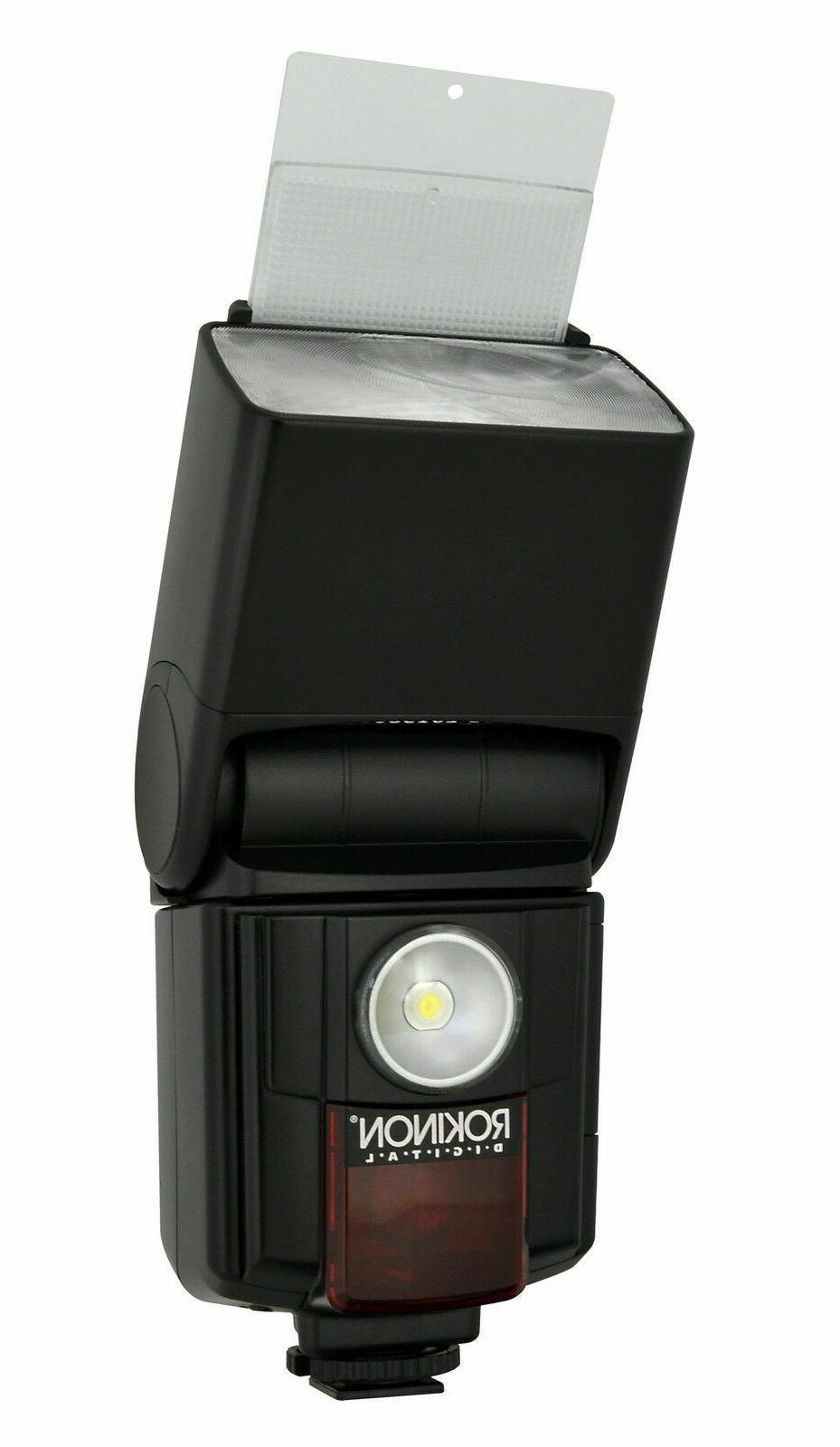 new digital zoom flash for canon