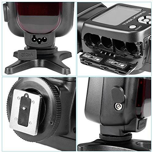 Neewer NW-561 LCD Kit for and Includes: Diffuser, CT-16 Wireless