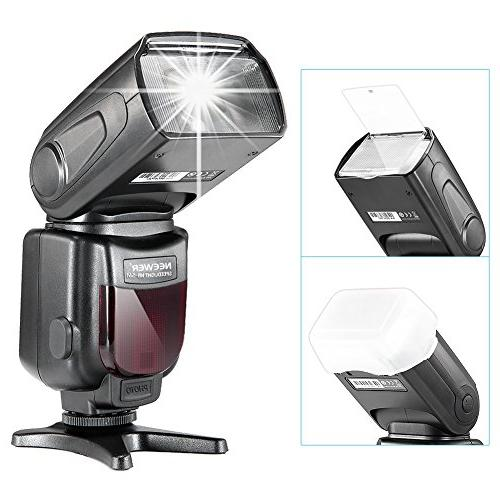 Neewer LCD Display Kit and DSLR Includes: Diffuser, CT-16