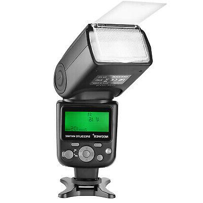 nw760 remote ttl flash speedlite with lcd