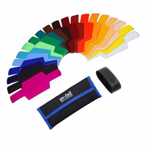 Selens Magnetic Colours Filter Diffuser Snoot