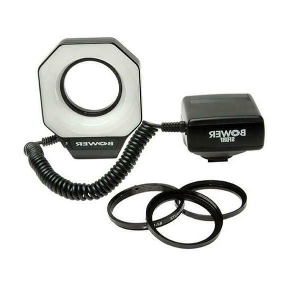 Bower SFDRF Macro Ring Flash for Nikon Canon EOS T7i T7 T6i