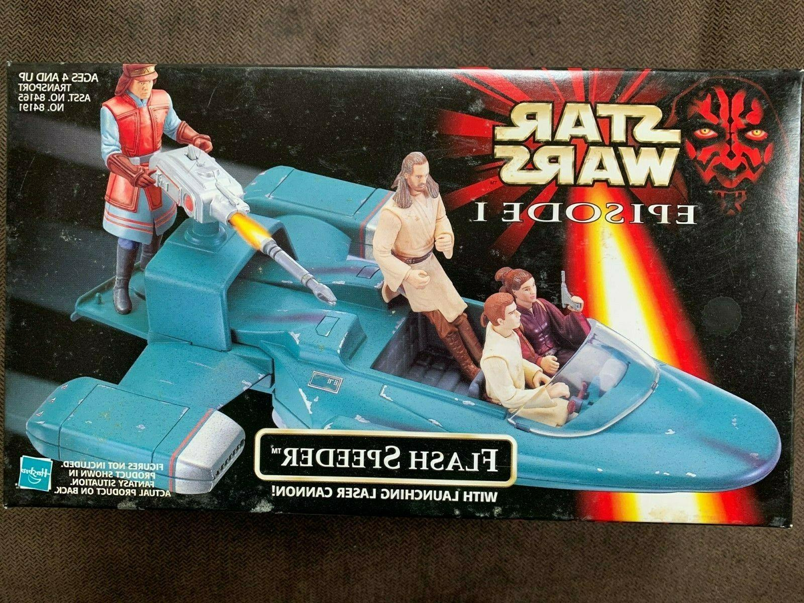 star wars episode i flash speeder