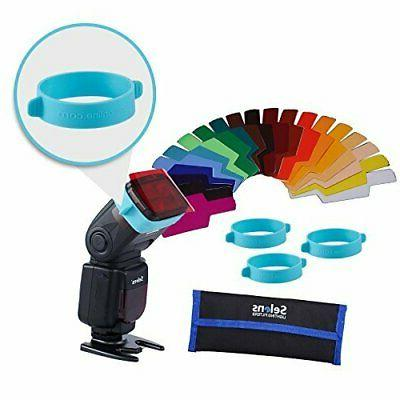 universal flash color gels filter two blue