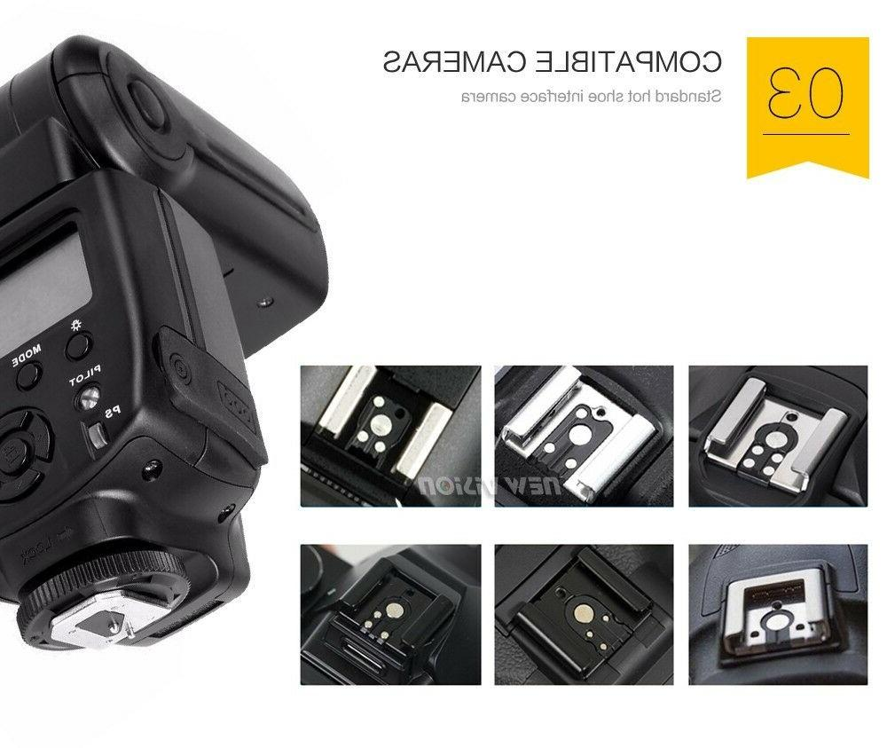 Universal Speedlight for Canon Nikon Olympus Cameras with