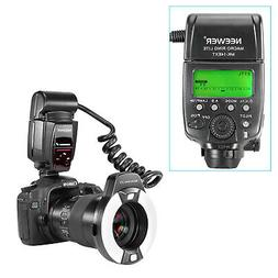 Neewer Macro Ring Flash Light with AF Assist Lamp for Canon
