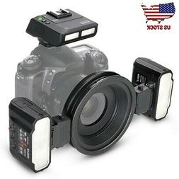 Meike MK-MT24 Macro Twin Lite Flash with Trigger for Canon D