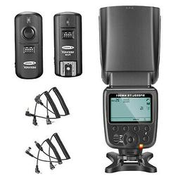 NW561 LCD Display Flash Speedlite Kit for Canon Nikon Panaso