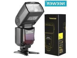 Neewer NW760 Remote TTL Flash Speedlite with LCD Display for