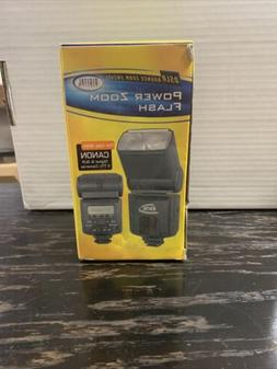 power zoom flash lcd bounce swivel af