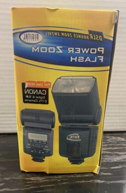 Digital Concepts Power Zoom Flash LCD Bounce Swivel AF Flash