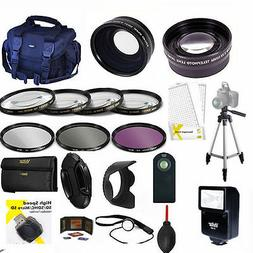PRO HD KIT/ FLASH / LENSES / TRIPOD/ FILTERS/ FOR CANON EOS