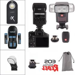 Professional Flash +24G  Accessory Kit for Canon EOS Rebel T