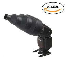 Selens Magnetic Flash Modifier Snoot Conical For Canon Nikon