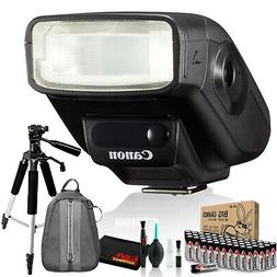 Canon Speedlite 270EX II Includes AA Batteries, Tripod, and