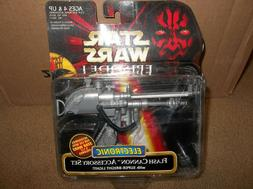 """Star Wars Episode 1 Flash Cannon Accessory Set """"Brand New""""!!"""