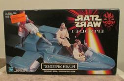 Star Wars Episode 1 Flash Speeder w/ Launching Laser Cannon