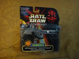 Star Wars episode I electronic Flash cannon accessory Set