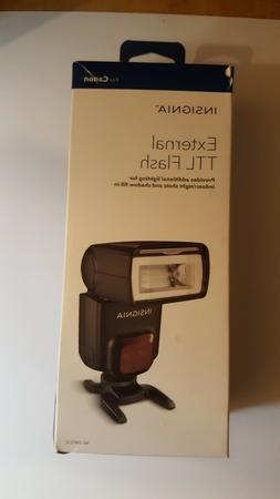 insignia ttl flash for cannon/ opened/ never used
