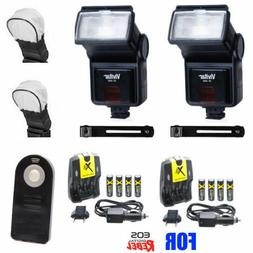 UNIVERSAL SLAVE FLASH KIT FOR CANON EOS REBEL T6I T6S T5I T3